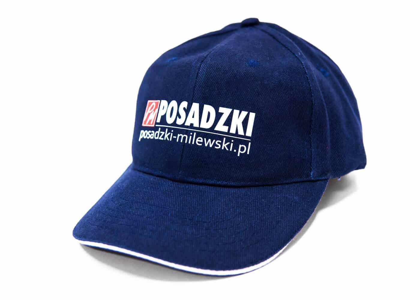 czapka z nadrukiem posadzki-milewski.pl