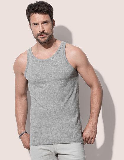 T-shirt męski bez rękawów
