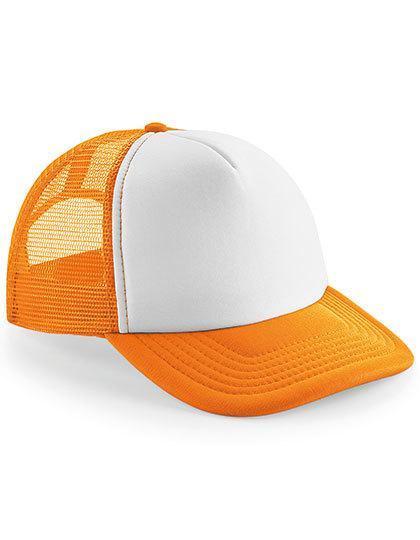 Pomarańczowa czapka z miejscem na logo